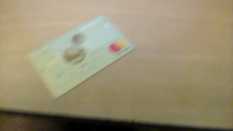 я счастливый обладатель Кредитной карты
