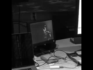 Ariana Grande Everytime live in studio