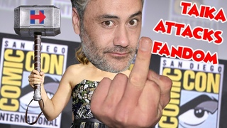 Marvel's Thor Director Taika Waititi Tells Brie Larson To Hold His Beer