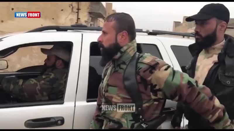 Российские специалисты тренируют палестинцев из Лива аль Кудс февраль 2019