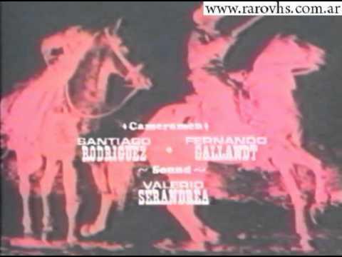 Los buitres cavaran tu fosa (Argentina VHS Credits)