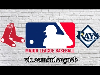 Boston Red Sox vs Tampa Bay Rays   24.08.2018   AL   MLB 2018 (1/3)