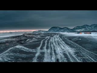 Kamchatka. the winter surf challenge __ камчатка от timelab.pro 6k drone video