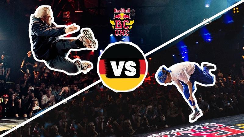 B-Boy DOUBLE D vs. B-Boy QUBE | Semi-Final 2 Red Bull BC One Cypher Germany