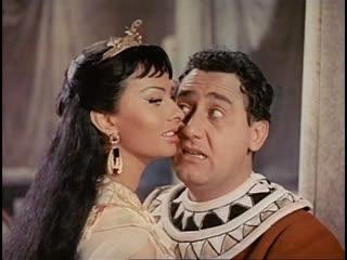 Х/Ф Две ночи с Клеопатрой / Due notti con Cleopatra (Италия, 1954) Комедийный фильм с Альберто Сорди и Софи Лорен в гл. ролях