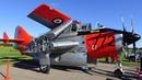 3 400 HP 310 MPH bi fold wings coaxial propellers oldest flyingTurboprop Fairey Gannet