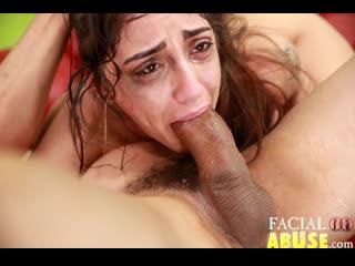 Good sharmuta (e709) [2019, arab, big ass, blowjob, slapping, facefucking, gagging, spitting, puking, deepthroat, facial, 1080p]