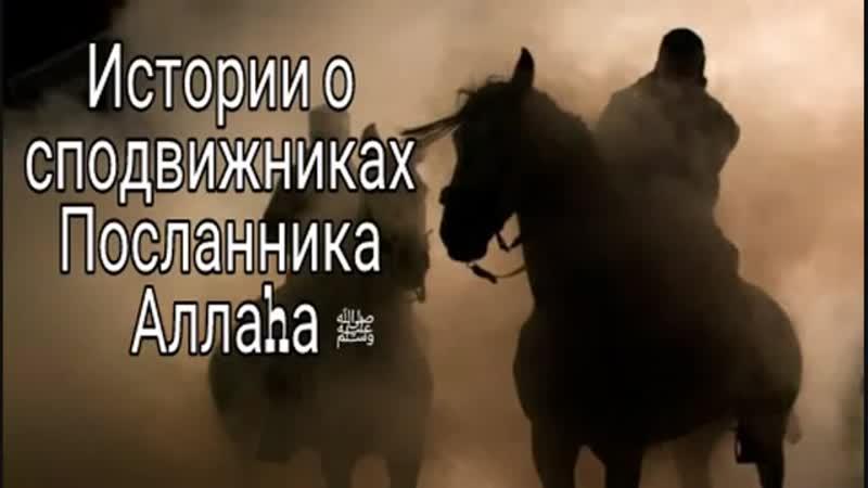 История о сподвижниках Посланника Аллаха ( Усайд ибн Аль-Худайр).mp4