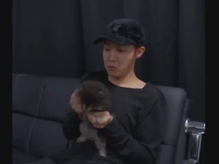 """I will never forget this scene where Yeontan is dancing to mic drop and Hobis lil  """"    """", they are so adorable."""