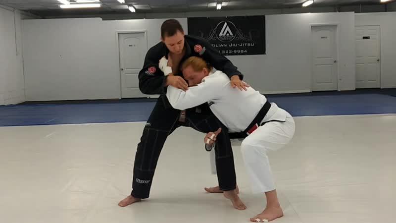 Wrestling Takedown for Brazilian Jiu-Jitsu