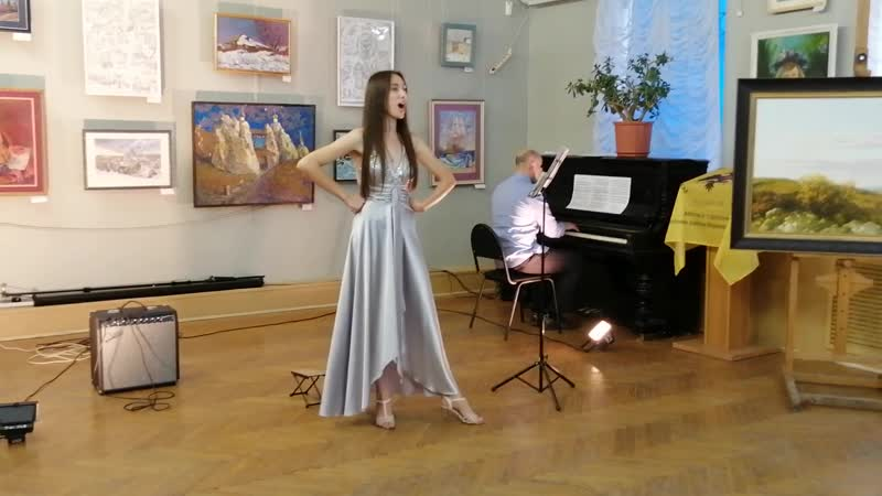 Молдавская народная песня Девушка Мари - Анна Сазанова (сопрано), Александр Сазанов (ф-но)