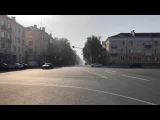 Выбросы хим завода в Тольятти