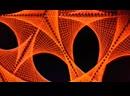 Energy Waves (String Art Fluro Art)