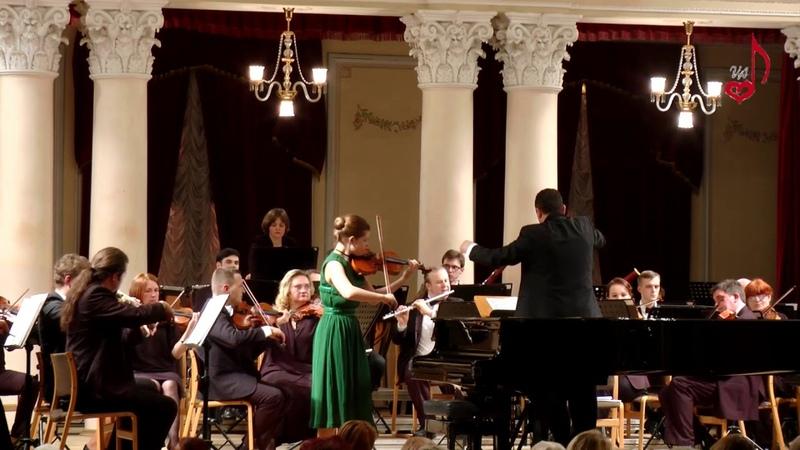 А.Хачатурян концерт для скрипки с оркестром 2 и 3ч.