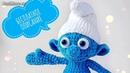 Амигуруми: схема Смурфик. Игрушки вязаные крючком - Free crochet patterns.