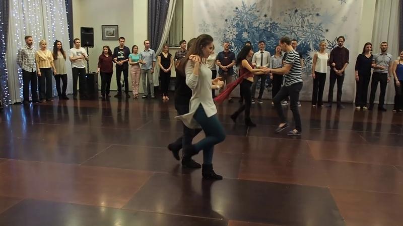 JnJ Novice final Ezhov Kokhanchikayte, Vorobyev Cho SwingSnow 2019