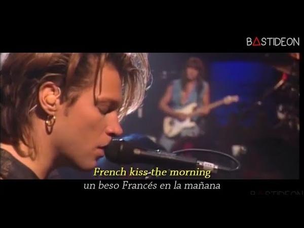 Bon Jovi Bed Of Roses Sub Español Lyrics