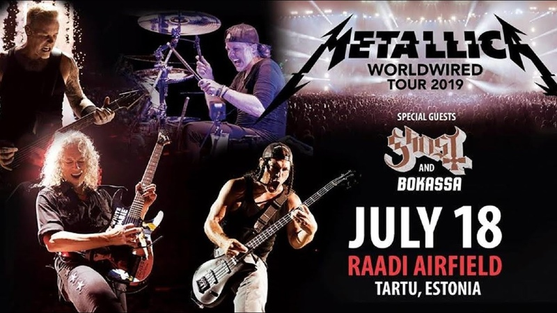 Metallica «Live in Estonia» 18.07.19 Tartu. video Alex Kornyshev
