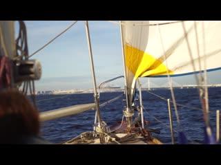 Chevre на парусной яхте в Финском заливе