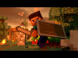Village Raid (Minecraft Animation) - Трейлер