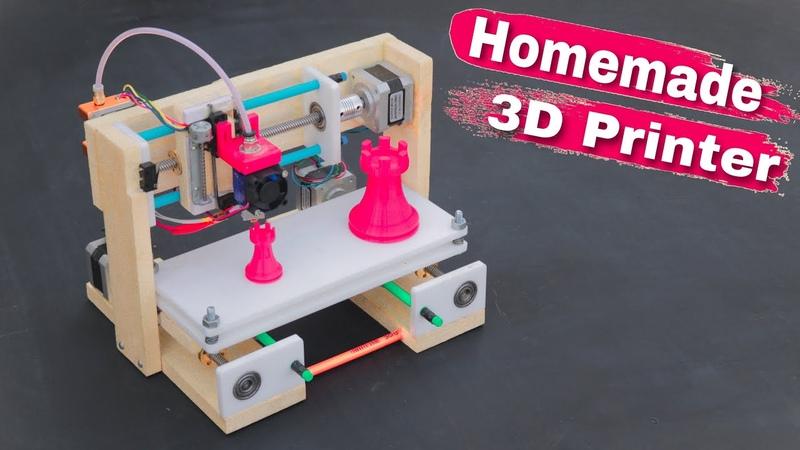 How To Make 3D Printer at Home Arduino Project смотреть онлайн без регистрации