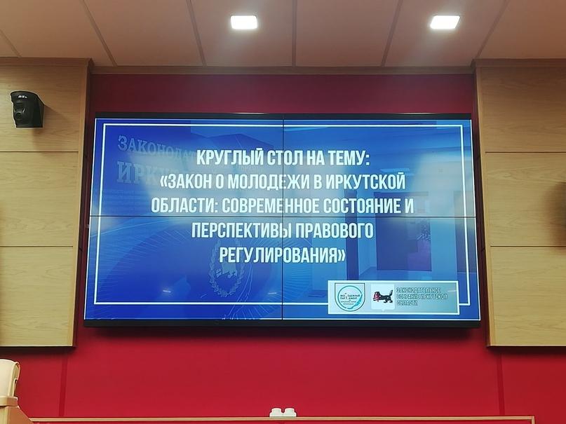 Третье заседание Молодежного парламента при Законодательном Собрании Иркутской области, изображение №6