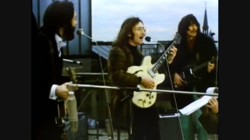 THE BEATLES APPLE ROOFTOP CONCERT 1969 LONDON