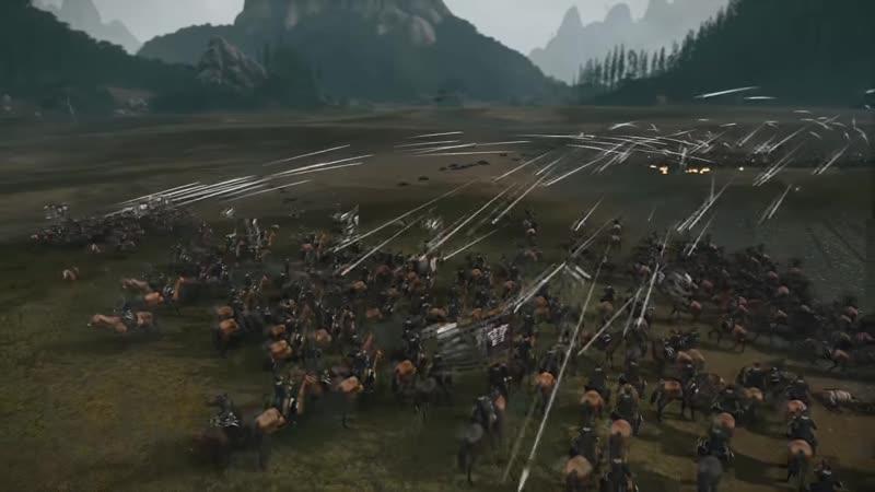 Eisenhorn Столкновение в Чанбане Total War Three Kingdoms Историческая Битва