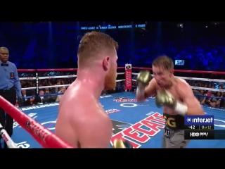 Эпизоды высочайшего боксёрского мастерства Сауля КАНЕЛО Альвареса в поединке против Геннадия Головкина
