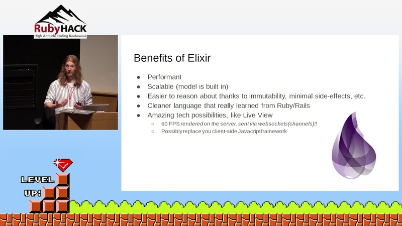 см. с '21''54 Benjamin Porter - A Rubyist's Survival Guide to Elixir and Phoenix