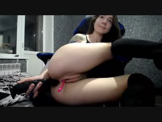 Sexy_b0rsch POV Blowjob Deepthroat HOT WIFE STRIP Cum Anal Plug Suck skinny mother Suck cock DOGGY amateur, masturbation, anal