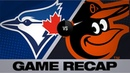 Grichuk's 9th inning grand slam lifts Jays Blue Jays Orioles Game Highlights 9 18 19