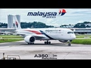 Malaysia Airlines Airbus A350 NEW Business Class Experience! | MH 1145 PEN-KUL Flight VLOG