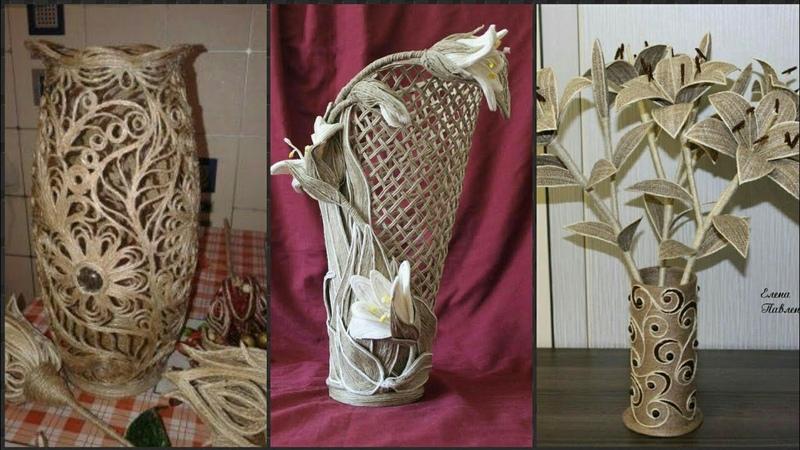 New Jute Vase Decoration Ideas