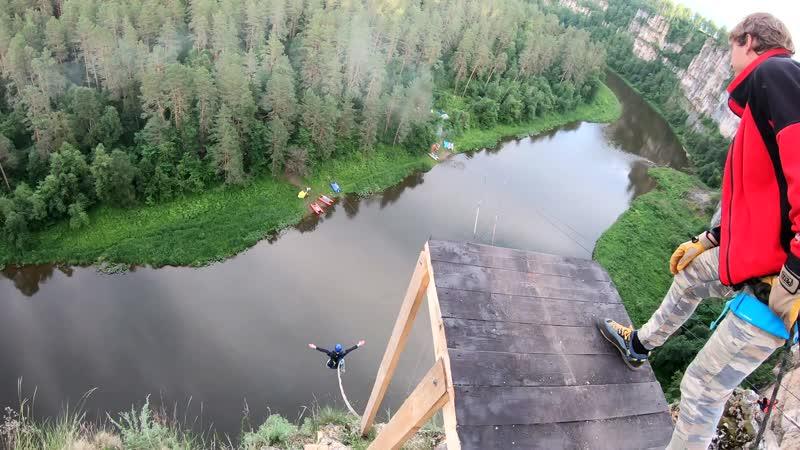 41 - Айские Притёсы (6-7 июля) No Angels Team/ Прыжки с веревкой на Урале