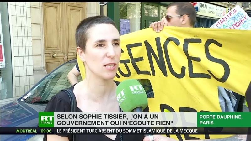 Sophie Tissier, Gilet jaune : «On a un gouvernement qui n'écoute rien»