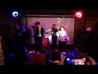 Michael-christmas-party - pushkarev club - 29/06/2019 - flash mob (beat it & thriller)
