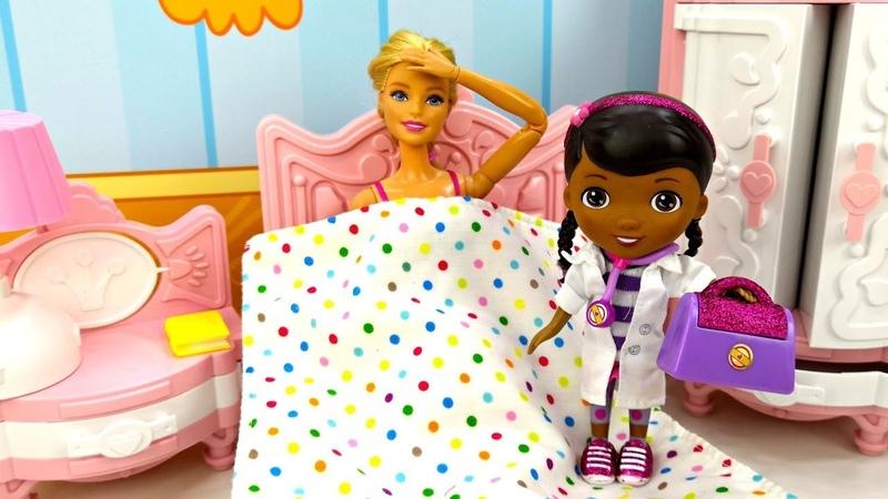 Мультик Барби и Кен Доктор Плюшева для Барби. Игры для девочек