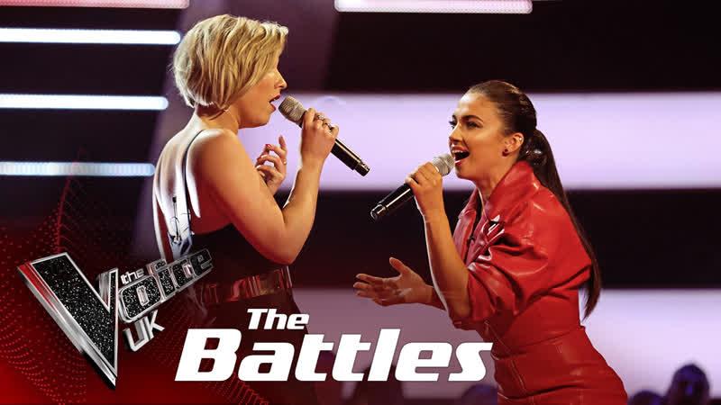 Moya vs Bethzienna WIlliams Never Tear Us Apart The Voice UK 2019