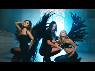 Премьера клипа! ariana grande ft. miley cyrus feat. lana del rey don't call me angel (charlie's angels)