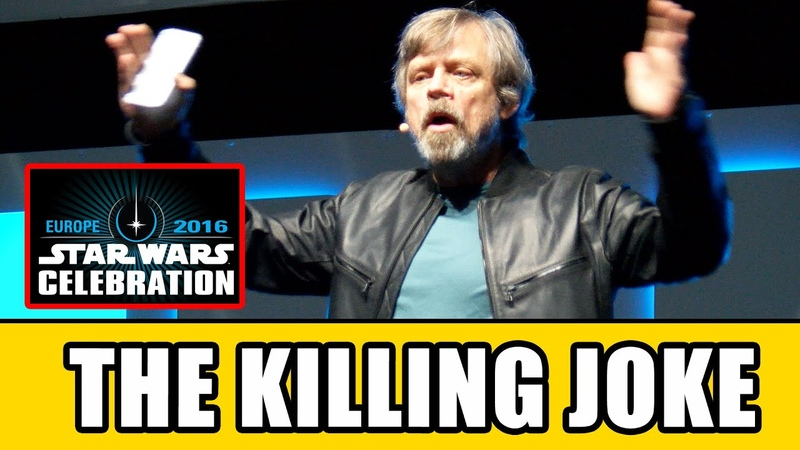Mark Hamill's JOKER Monologue At Star Wars Celebration