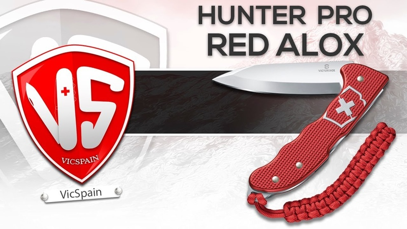 NEW VICTORINOX HUNTER PRO RED ALOX