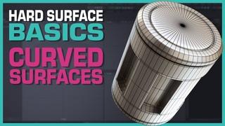Maya Hard Surface Basics: Curved Surfaces