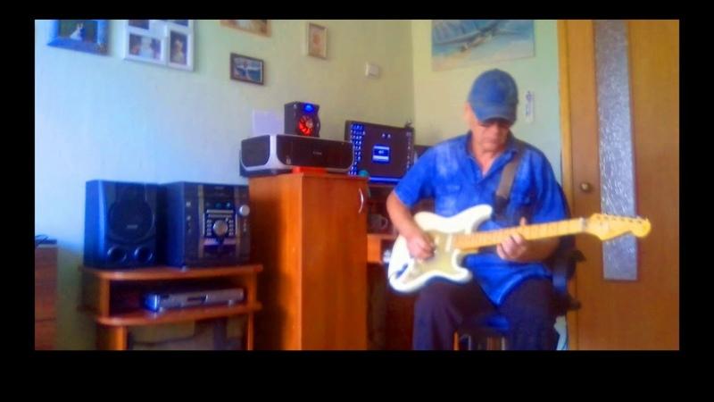 Bohemian Rhapsody Instrumental guitar cover Queen отрывочек