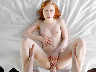 Рыжая кроха Dolly Little раздвинула ножки, секс, ебля, трах, минет, раком, кончил в рот, порно FULL HD 1080 Sex porno