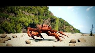Танцующий краб  [вставка для видео монтажа] crab rave