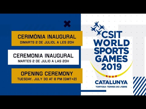 Cerimònia Inaugural Opening Ceremony ▶ WORLD SPORTS GAMES TORTOSA 2019