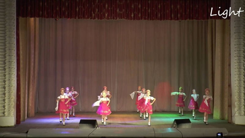 Отчетный концерт Ансамбля танца Light май 2016 год