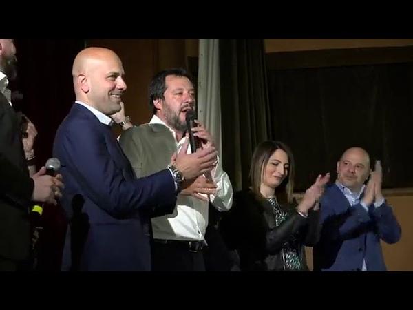 MATTEO SALVINI AD AVERSA (06.05.2019)
