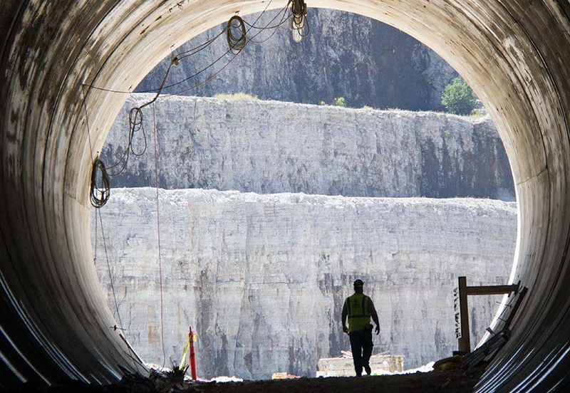Deep tunnel - мегапроект для защиты от наводнений Чикаго в США